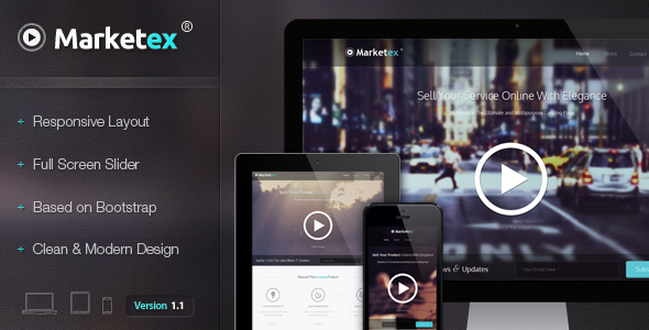 Marketex - The Multipurpose Responsive Showcase
