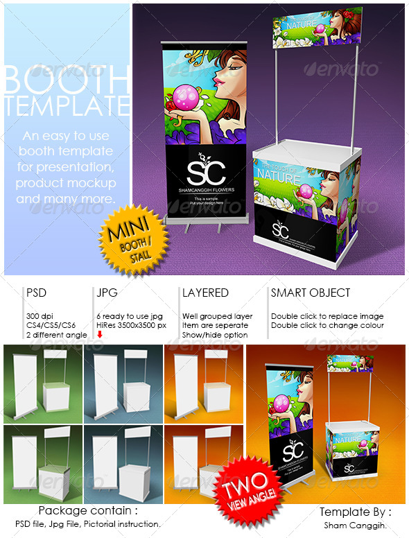 GraphicRiver Booth Template Part 3 4271789