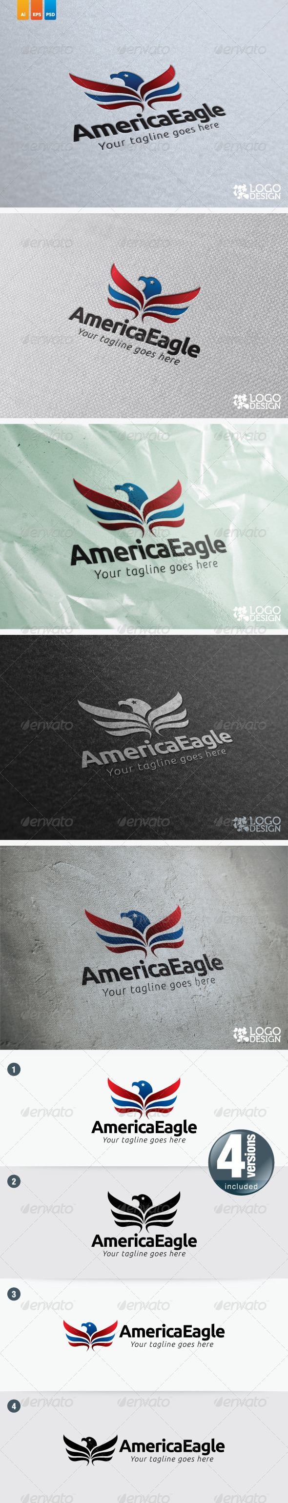 AmericaEagle - Animals Logo Templates