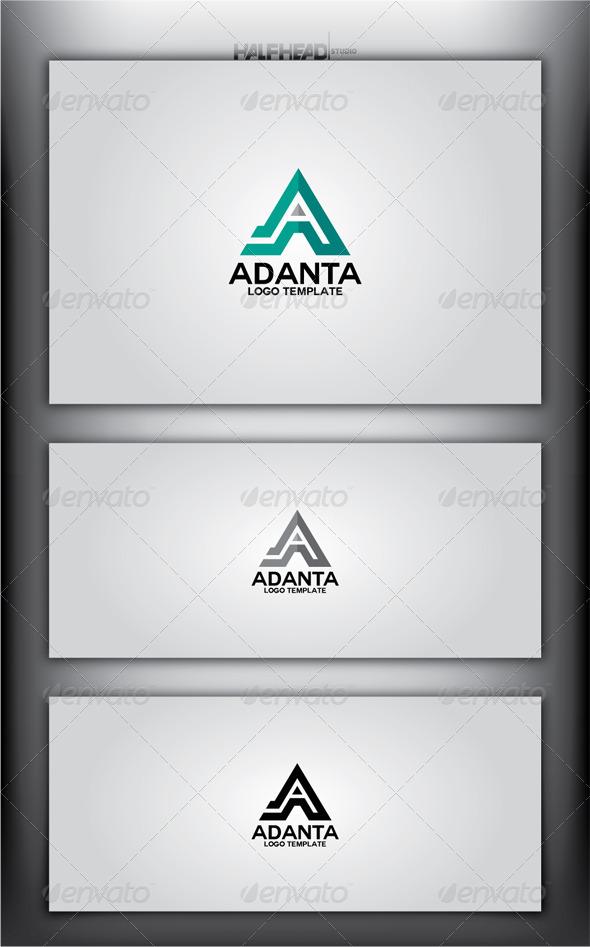 GraphicRiver ADANTA Logo Template 4345291