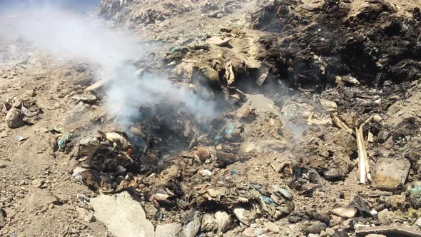 Download Burning Garbage Dump, Pollution nulled download