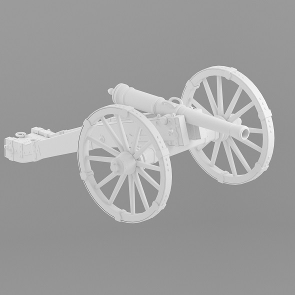Cannon - 3DOcean Item for Sale