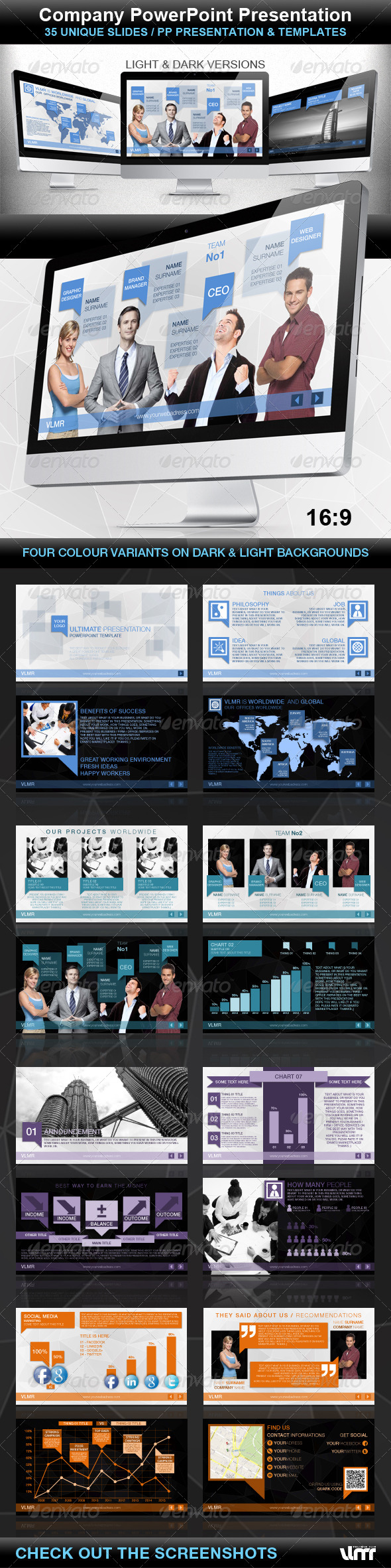 GraphicRiver Company PowerPoint Presentation 4310178