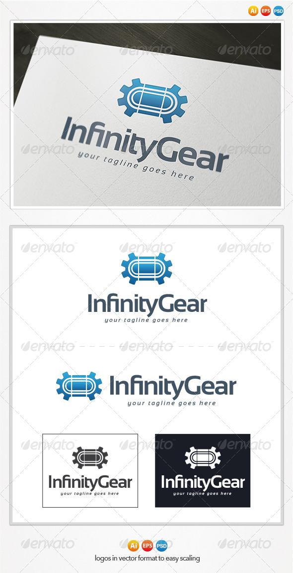 GraphicRiver Infinity Gear Logo 4346919