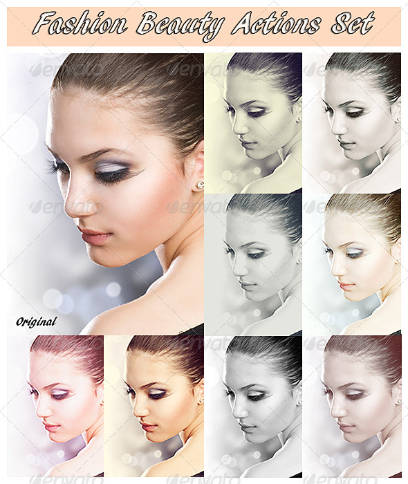 GraphicRiver Fashion Beauty Set 4346932