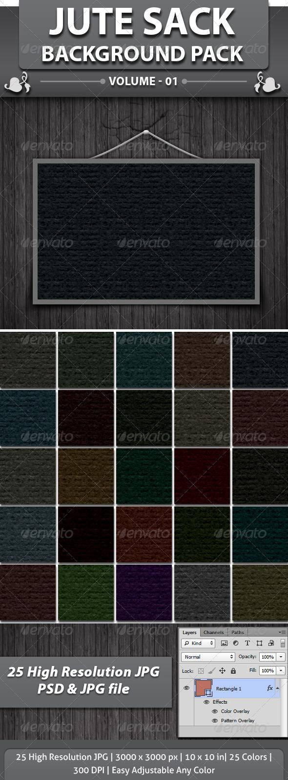 Jute Sack Background - Patterns Backgrounds