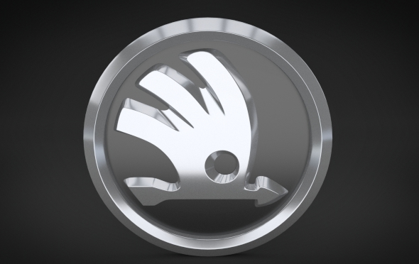 Skoda Logo (2011) - 3DOcean Item for Sale