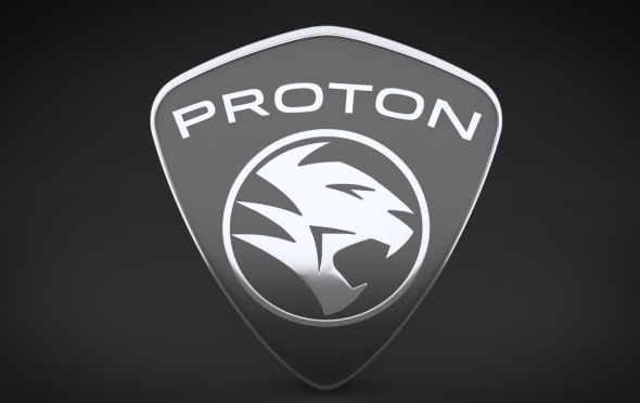 Proton Logo - 3DOcean Item for Sale