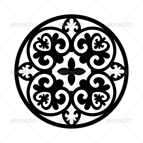 GraphicRiver Circular Ornament 4347275