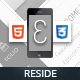 Reside Mobile Retina | HTML5 & CSS3 and iWebApp - ThemeForest Item for Sale