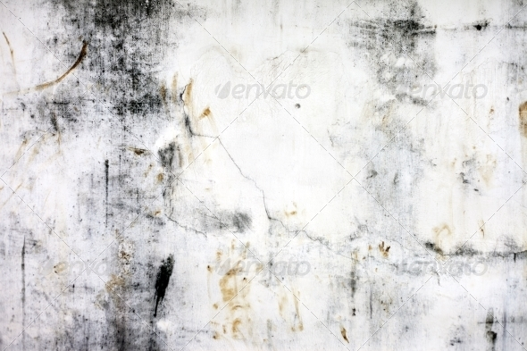 GraphicRiver Background high detailed fragment stone white wall 4348842