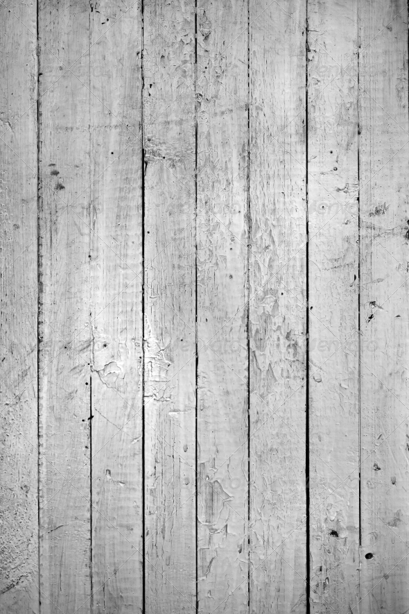 GraphicRiver grungy white background of natural wood 4348992