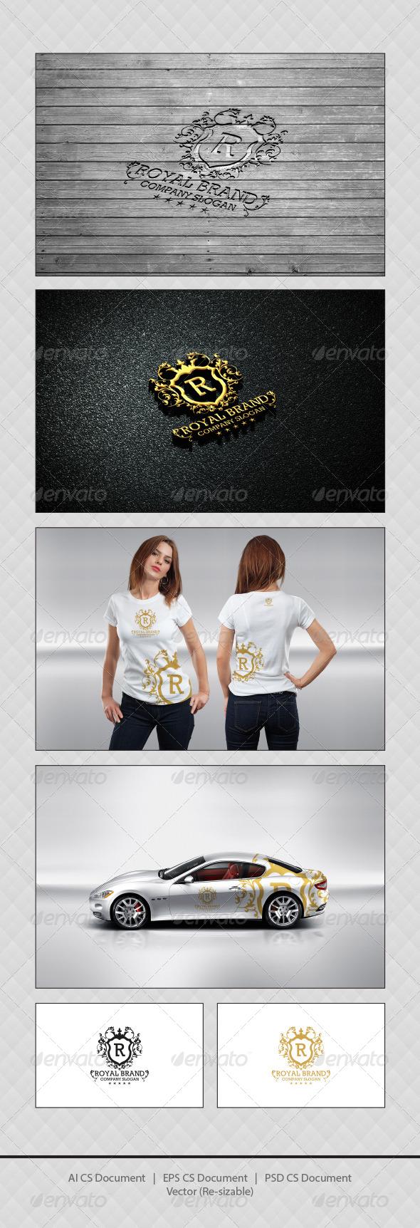 GraphicRiver Royal Brand Logo Templates 4261759