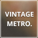 Vintage Metro — A Blog Template for Tumblr. - ThemeForest Item for Sale
