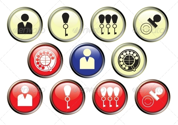 GraphicRiver Icons of Hotel Service 4350510