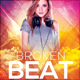 Broken Beat Party Flyer - GraphicRiver Item for Sale