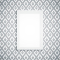 Simple blank frame on gray wallpaper - PhotoDune Item for Sale
