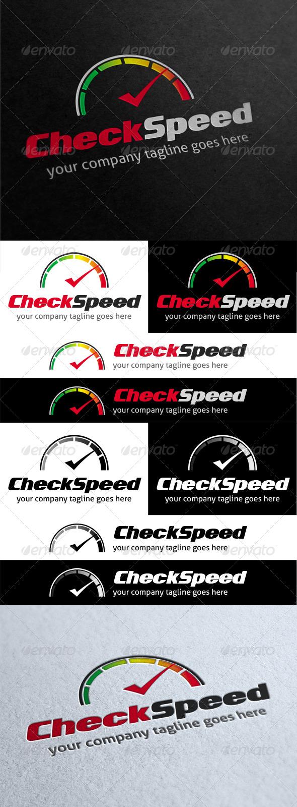 GraphicRiver Check Speed Logo 4111168