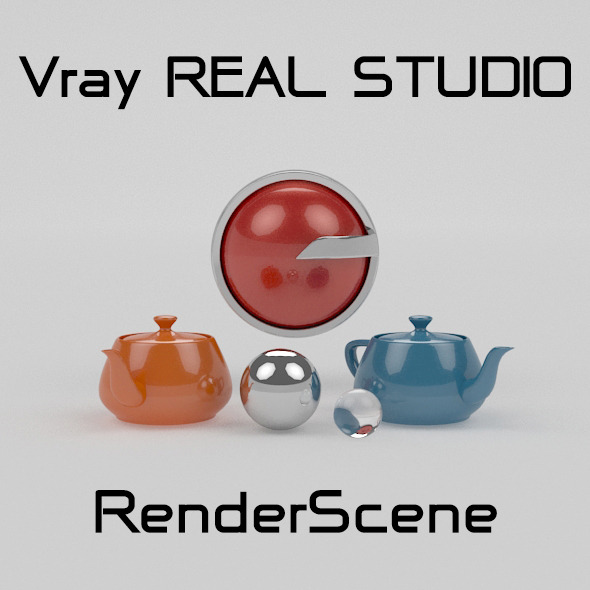 3DOcean Vray REAL STUDIO Photography 4351928