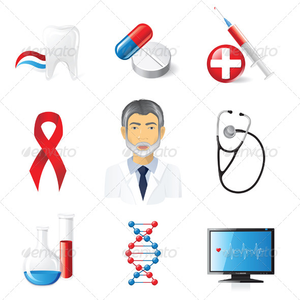 GraphicRiver Medical Icons 4353053