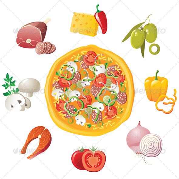 GraphicRiver Pizza 4353137