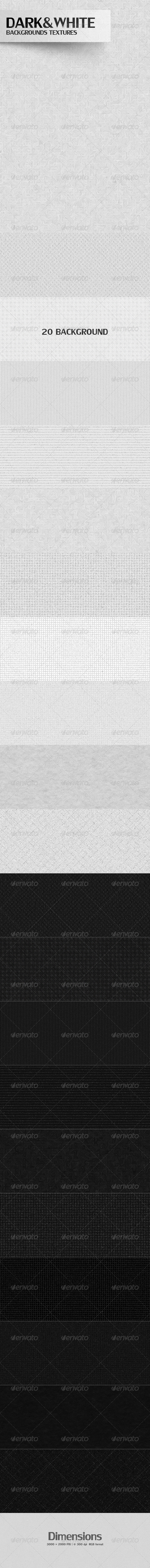 White & Dark Backgrounds Textures - Patterns Backgrounds