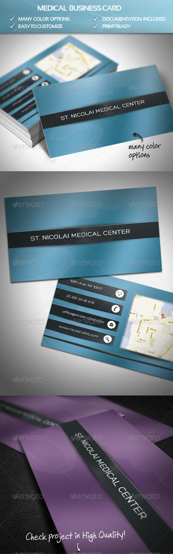 GraphicRiver Medical Business Card 4228622