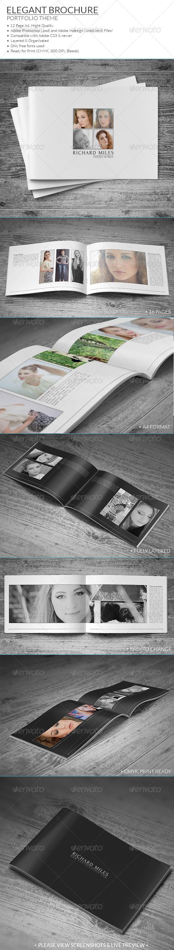 Elegant Portfolio Brochure - Portfolio Brochures