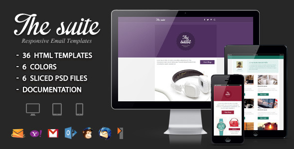 The suite - Responsive Email Template