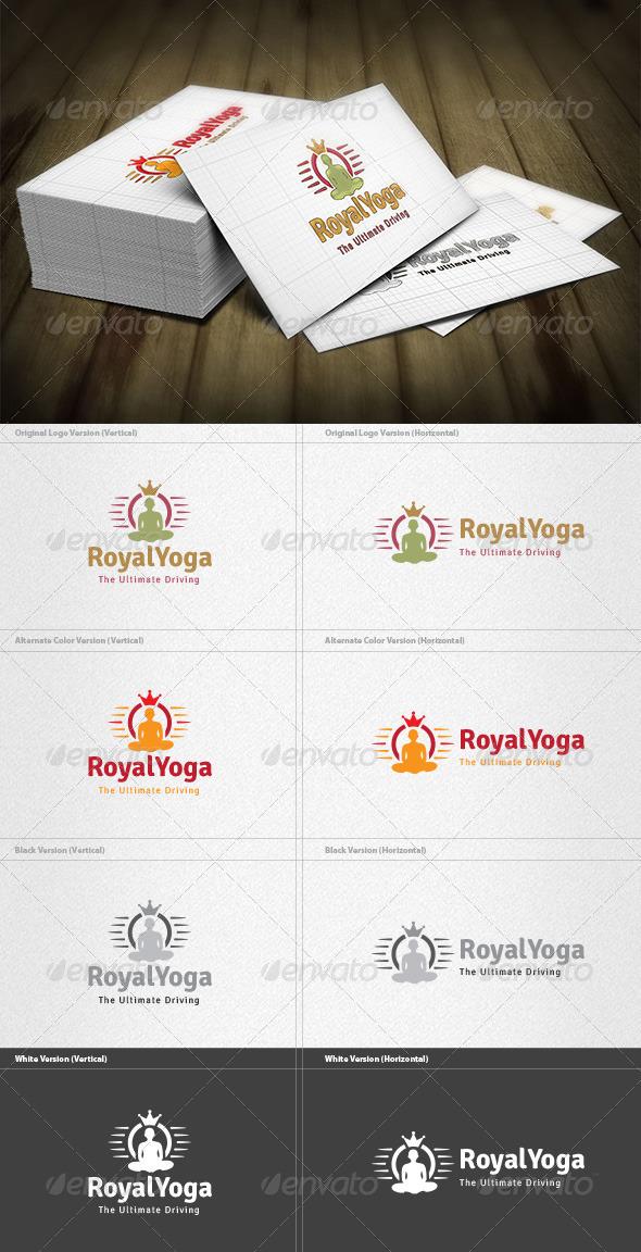 GraphicRiver Royal Yoga Logo 4355109
