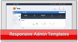 Responsive Admin Templates
