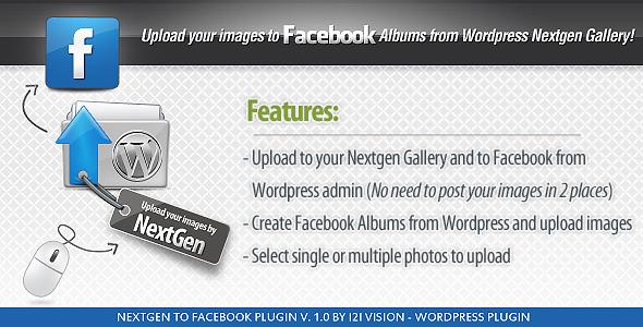 Nextgen to Facebook Photo Publisher - CodeCanyon Item for Sale