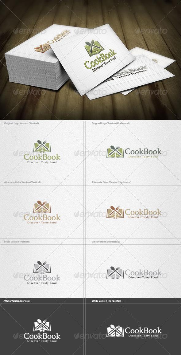 GraphicRiver Cook Book Logo 4355525