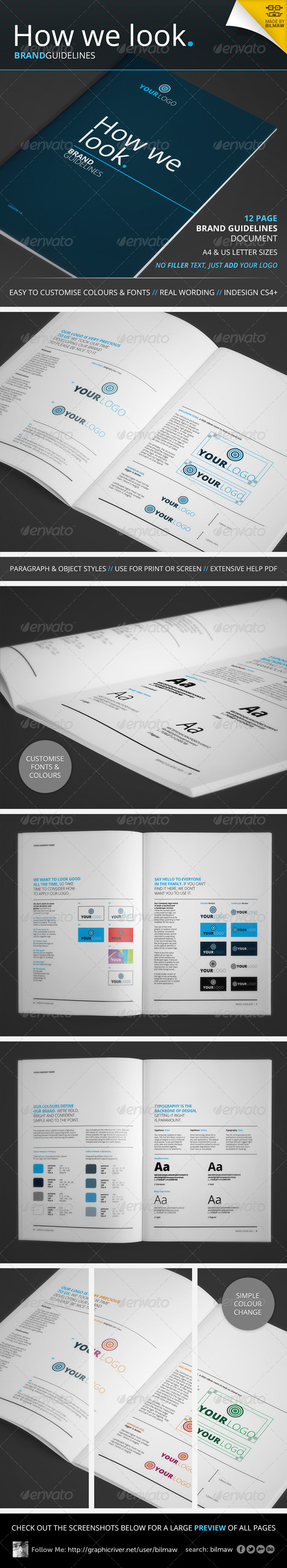 GraphicRiver How We Look Brand Guidelines 4355542
