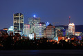 Montreal over river at dusk - PhotoDune Item for Sale