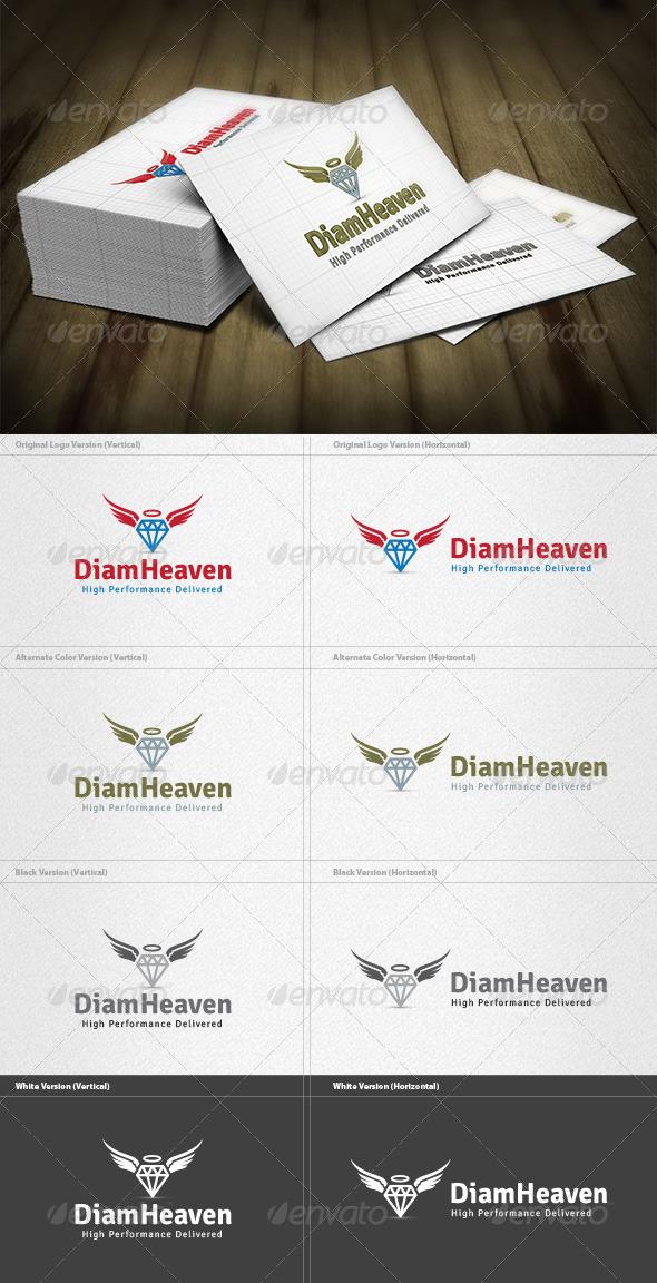 GraphicRiver Diamond Heaven Logo 4355565
