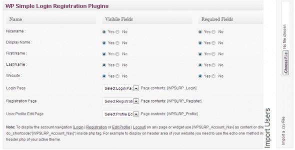 CodeCanyon WP Simple Login Registration Plugin 4356830
