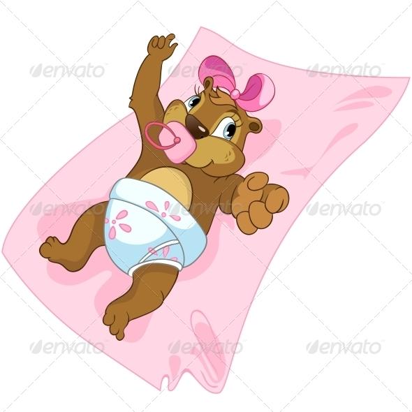 GraphicRiver Cartoon Character Beaver 4356953