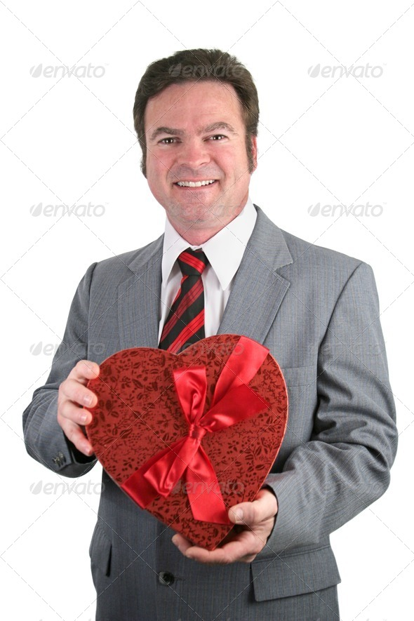 Valentine Guy - Stock Photo - Images