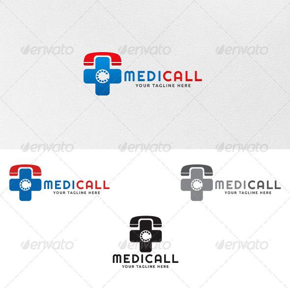 GraphicRiver Medicall Logo Template 4277385