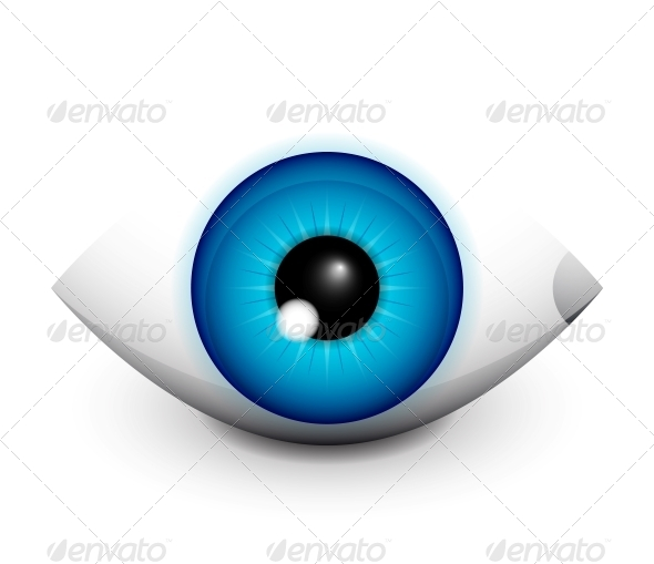 GraphicRiver Hi-tech Eye Concept Icon Design 4359186