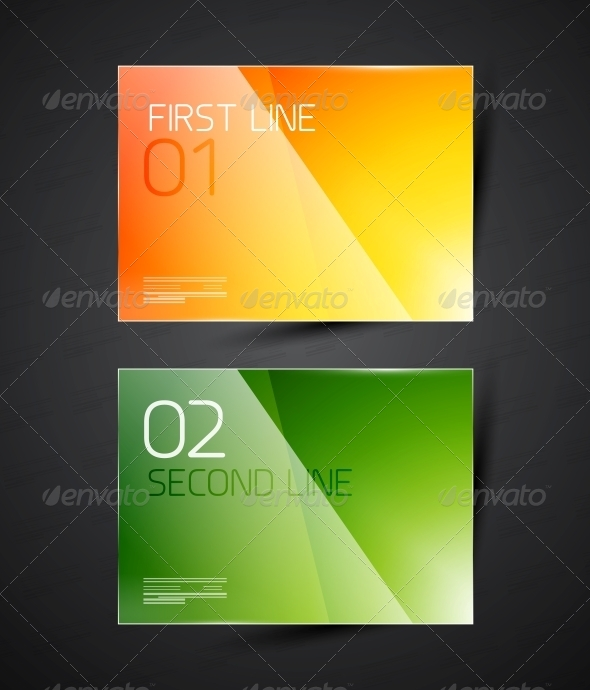 GraphicRiver Modern Glossy Infographic Banner Design Template 4359271