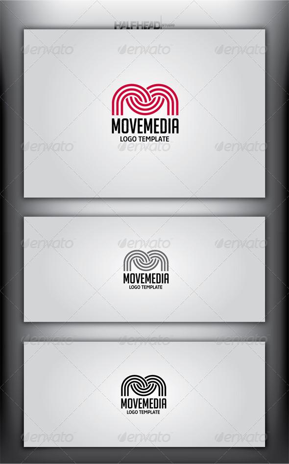 GraphicRiver MOVE MEDIA Logo Template 4359852