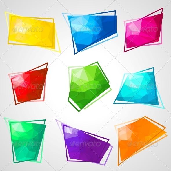 GraphicRiver Multicolored Speech Bubbles 4360222