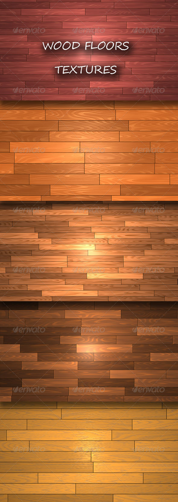 GraphicRiver Wood Floors Textures 4360260