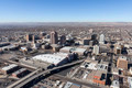 Albuquerque New Mexico Downtown Aerial - PhotoDune Item for Sale