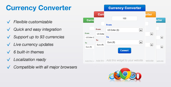 CodeCanyon Currency Converter 4360821