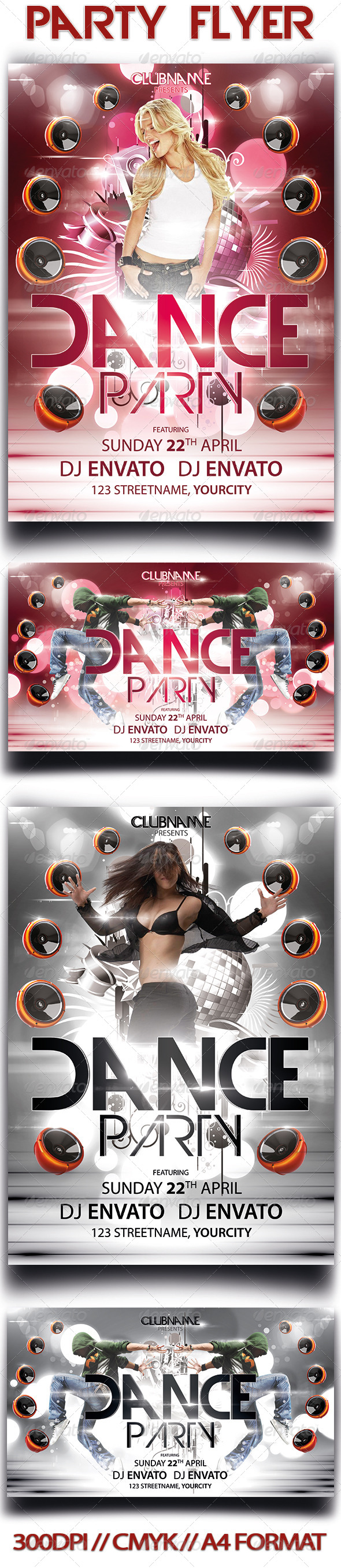 GraphicRiver Party Flyer 3776256