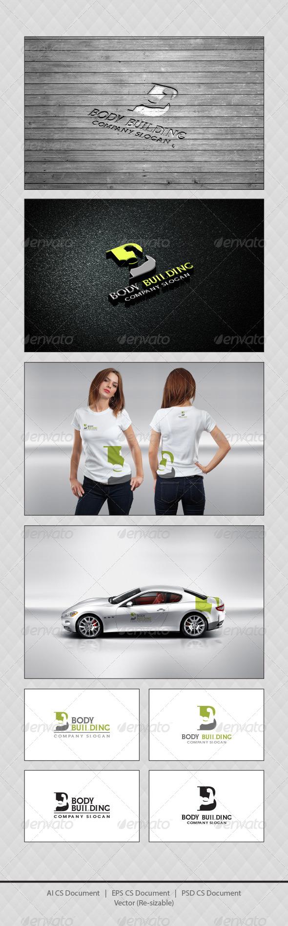 GraphicRiver Body Building Logo Templates 4361708