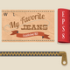 Jeans Labels and Tags Set - GraphicRiver Item for Sale